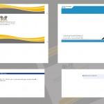 طراحی ست اداری - فرم باز (گسترده) پاکت نامه