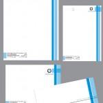 طراحی ست اداری رزین سازان