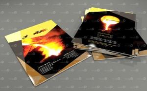 طراحی و چاپ کتابچه معرفی محصولات ابتکار