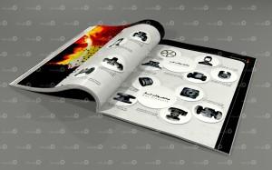 طراحی و چاپ کتابچه معرفی محصولات